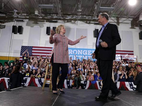 USA 2016/ Sarà Tim Kaine il vice di Hillary Clinton
