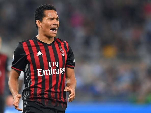 Sul mercato. Carlos Bacca, 18 gol la scorsa stagione: ha ricevuto un'offerta dal West Ham, il Milan vuole cederlo (Fabio Bozzani)