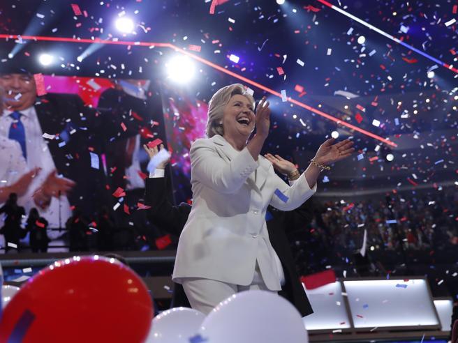Clinton: «Usa alla resa dei conti»Le 10 frasi chiave del discorsoFoto|Video|Chelsea in rosso