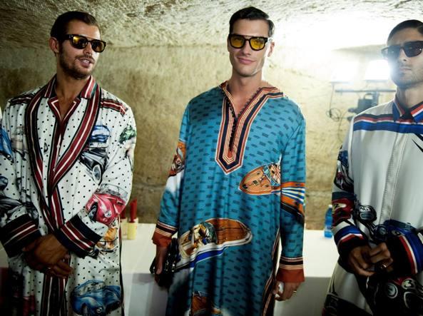 Dalla collezione Alta Sartoria di Dolce e Gabbana