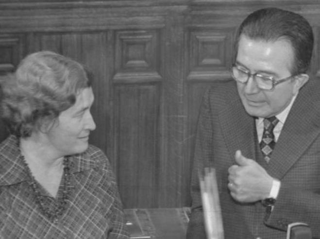 Tina Anselmi, quaranta anni fa  primo ministro donna in Italia