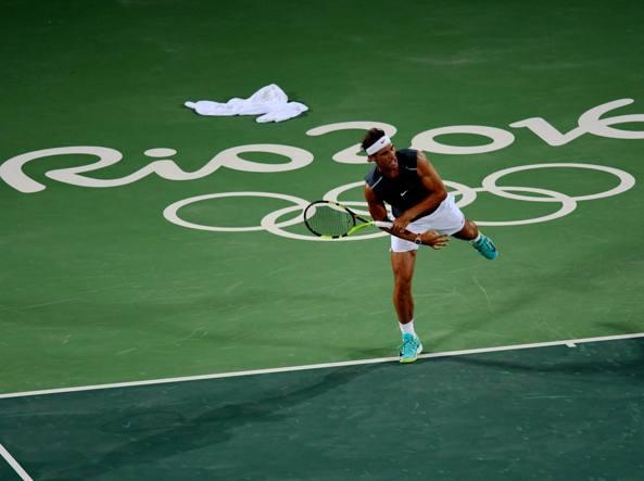 Rio 2016: Nadal ancora in dubbio, ma si allena