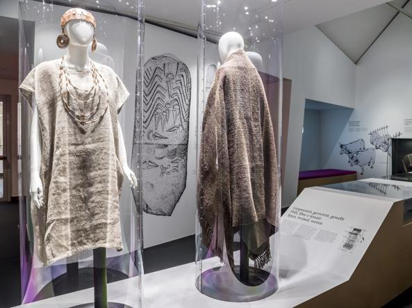 Un'immagine della mostra sull'Età del rame al Museo di Bolzano