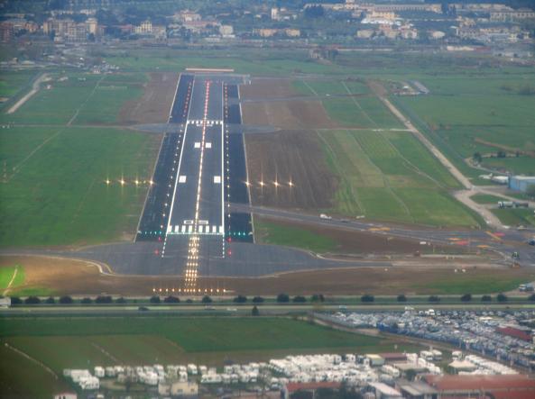 Aeroporto, Giani:
