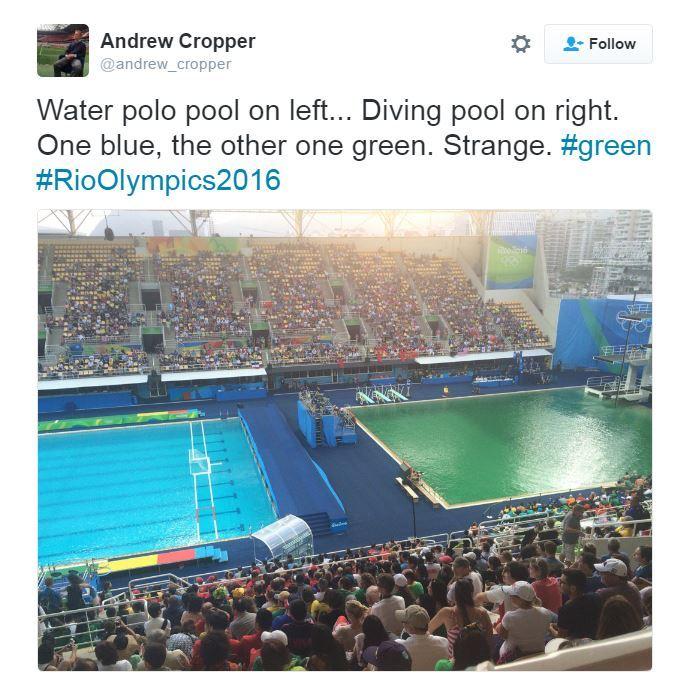 Olimpiadi di rio 2016 risolto il mistero della piscina - Piscina olimpiadi ...