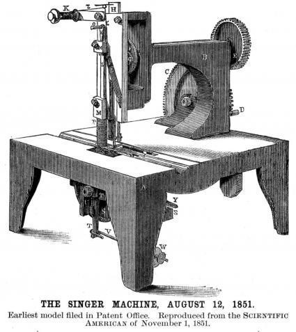 La macchina da cucire singer compie 165 anni for Macchina da cucire singer tutti i modelli