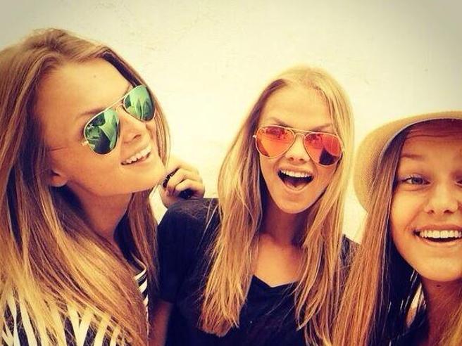 Le bellissime figlie di Frank de Boer