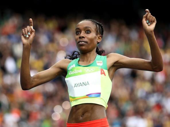 Atletica, Oro e record del mondo per l'etiope Ayana nei 10.000