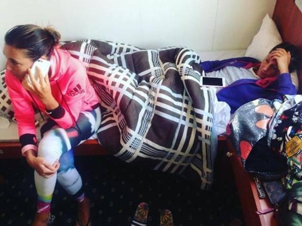 Traghetto bloccato a Corfù: 460 in attesa, c'è anche la Pennetta
