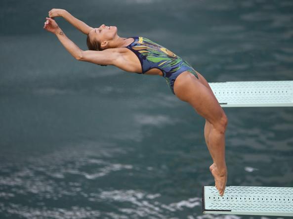 Tania Cagnotto ha vinto il bronzo dal trampolino