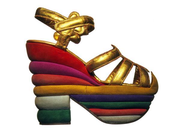 Il sandalo arcobaleno di Salvatore Ferragamo