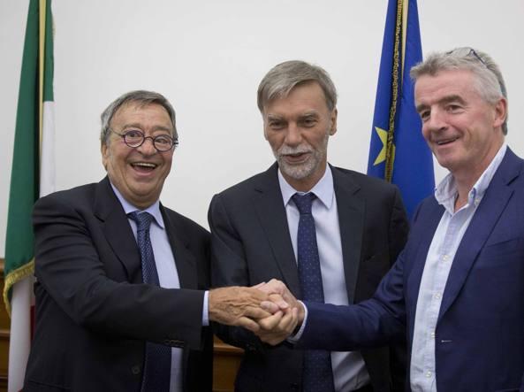 Ryanair investe 1 miliardo in Italia e apre nuove rotte