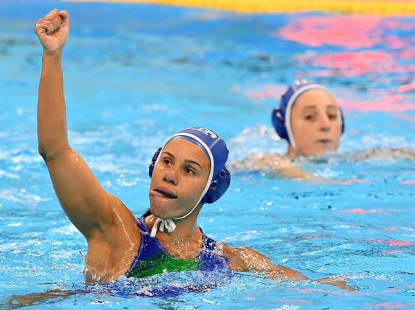 La capitana dell'Italia Tania Di Mario (Ansa/Ferrari)