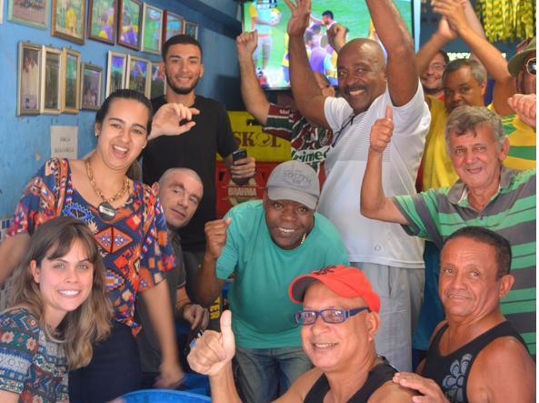 La partita nella favela