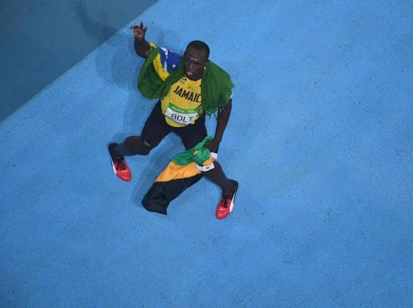 Usain Bolt (Afp/Tuillier)