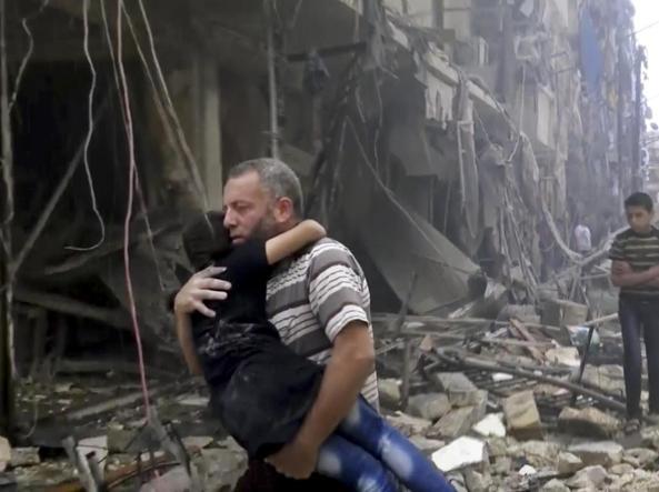 Siria: uccisi sei bambini in un raid su Aleppo