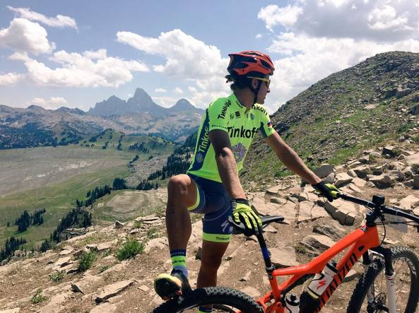 Mbx Peter Sagan ci prova anche con la mountain bike
