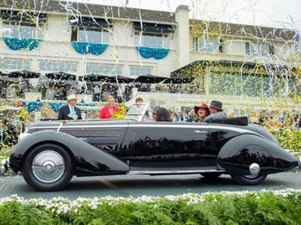 Lancia Astura Pininfarina del 1936 vince a Pebble Beach