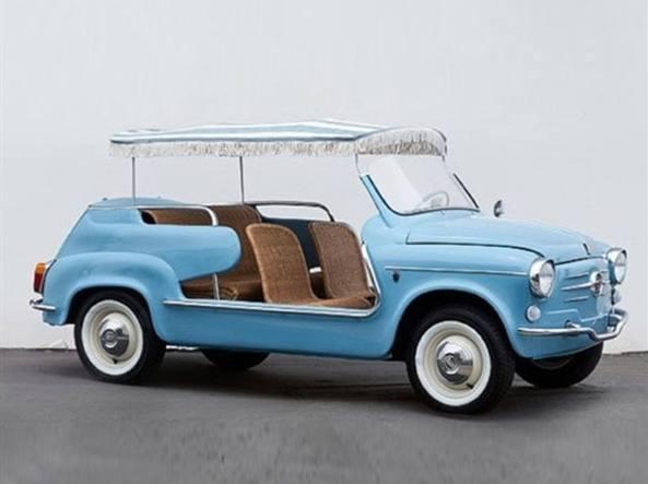 Quella Fiat 600 Ghia da 108mila euro