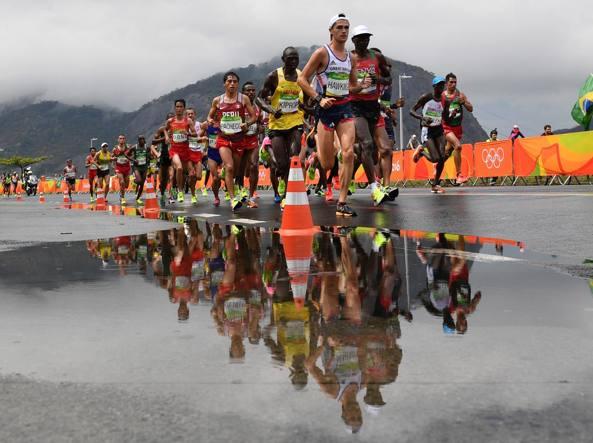 Anche dalla maratona niente medaglie per gli azzurri, rimasti a secco (Afp/Ugarte)