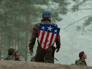 Un'immagine tratta dal film Captain America: il primo vendicatore (2011) del regista Joe Johnston