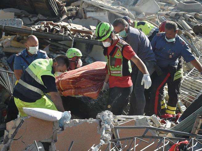 Terremoto «Un aiuto subito»con Corriere  e TgLa7