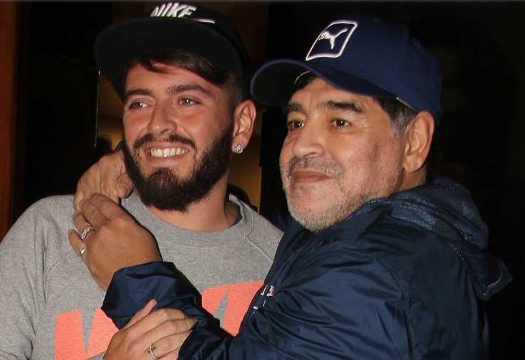 Diego Maradona Kinder