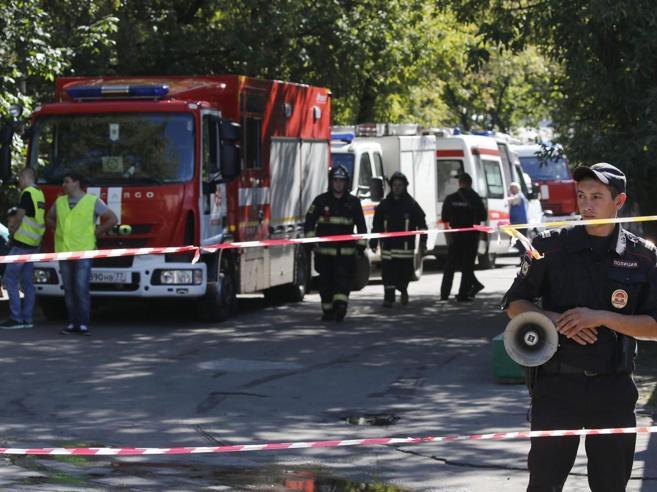 Mosca, incendio in una tipografia17 vittime, molte kirghise Video
