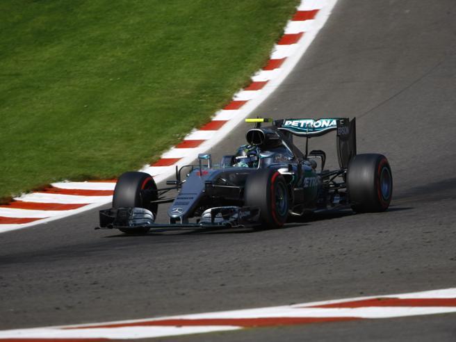 Gp del Belgio: Rosberg in pole, secondo Verstappen, terzo Raikkonen