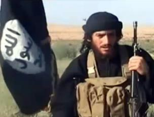 Abu Mohamed al Adnani, portavoce dell'Isis (Afp)