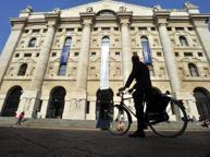 La Borsa recupera e cresce Su Unicredit e Mediobanca