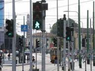 Porta Ticinese, un «bosco orizzontale» di 83 semafori