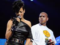 Una pistola contro la modella Arrestato Brown, ex di Rihanna