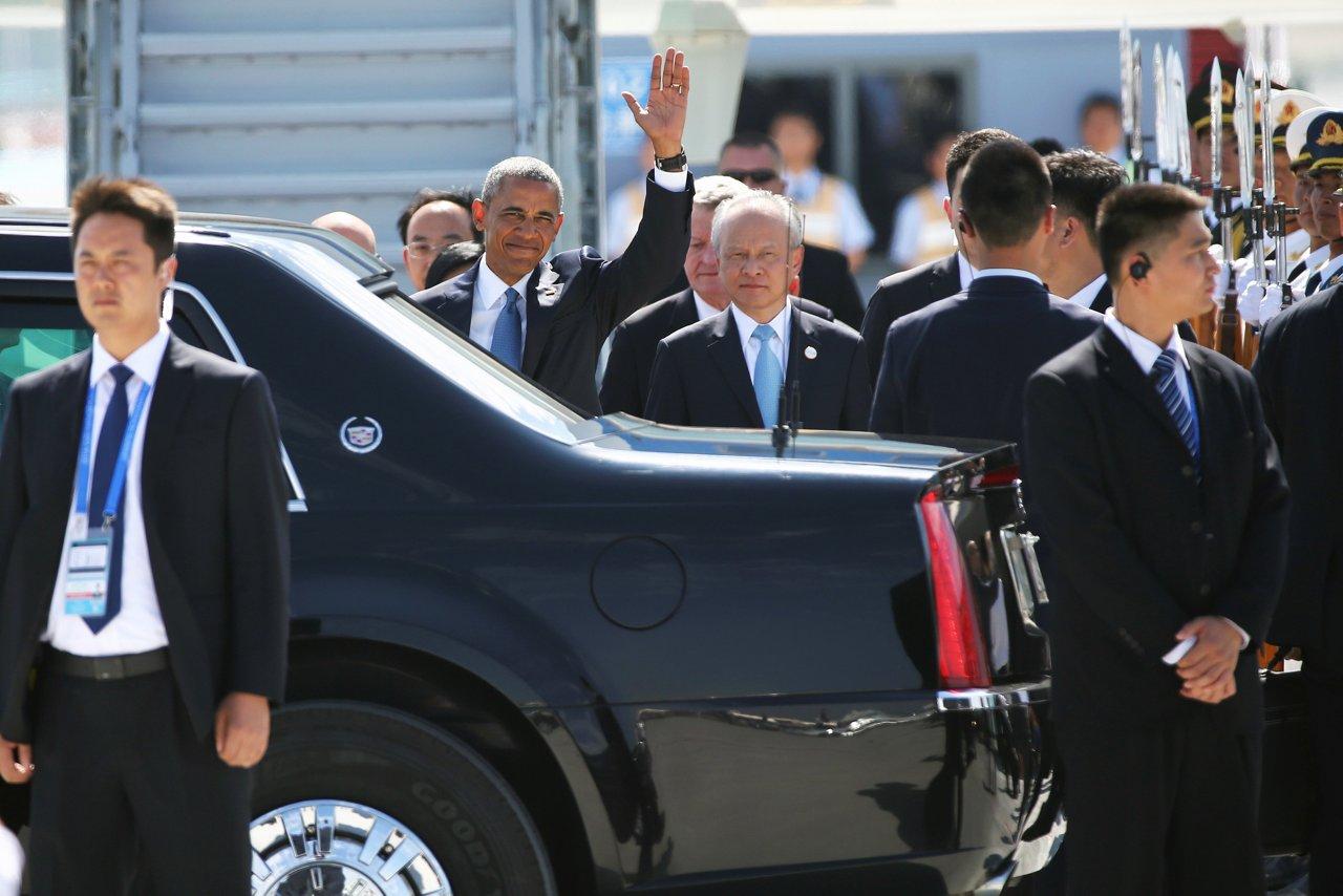 G20 Cina, l'arrivo di Obama senza tappeto rosso - Corriere.it