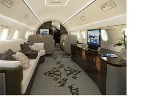 Saloni bagni camere da letto il lusso estremo dei jet for Grandi jet privati in cabina
