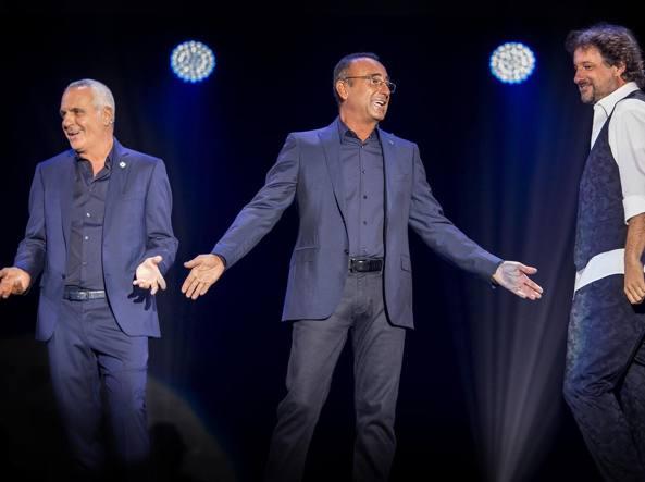 Giorgio Panariello, Carlo Conti, Leonardo Pieraccioni