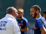 Ritorna papà Bonucci, il figlio sta meglio: «Ci porta entusiasmo»