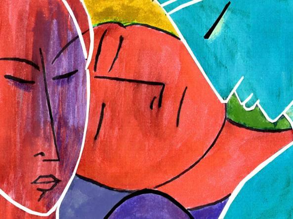 Un disegno di Doriano Solinas