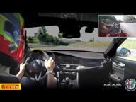 Il videodella Giulia Quadrifoglio nel giro record sul Nürburgring