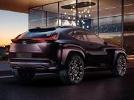 Lexus UX, prototipo sempre connesso