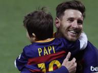 Tale padre, tale figlio: Messi jr a 3 anni comincia nel Barça