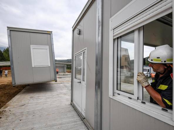 Sisma: apre nuova scuola realizzata ad Amatrice