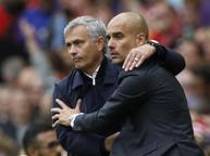 Manchester United-Manchester City 1-2, Guardiola batte Mourinho