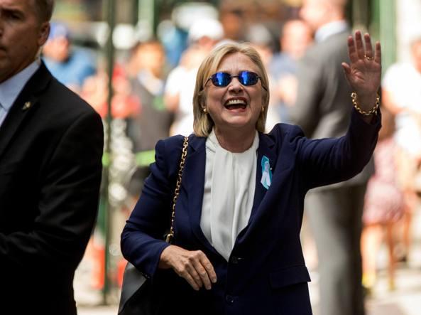 Hillary Clinton torna in campagna elettorale più in salute che mai