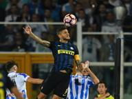 Serie A, Pescara-Inter 1-2: nerazzurri salvati dalla doppietta di Icardi