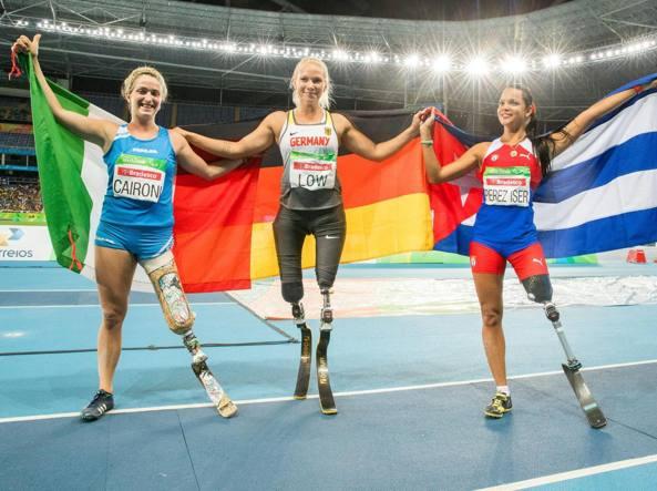 Due argenti e due bronzi per l'Italia paralimpica