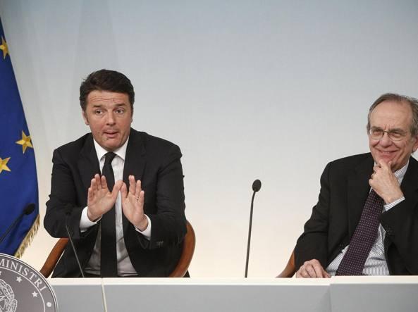 Mps, dossier domani in Bce, mercoledì cda e nuovo AD - Padoan