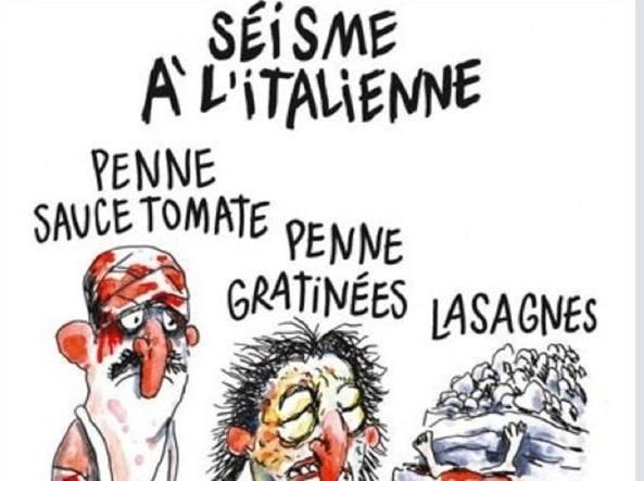 Charlie Hebdo: la risposta del comune di Amatrice alle vignette