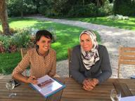 Francia, la ministra e la vittima (velata) del terrore