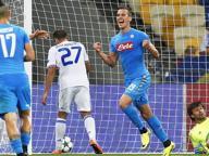 Champions, Dinamo Kiev-Napoli 1-2: una doppietta di Milik decide la gara